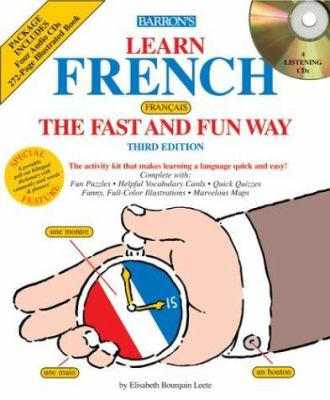 Learn French the Fast and Fun Way with Audio CDs 9780764176890
