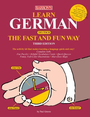 Learn German the Fast and Fun Way 9780764125409