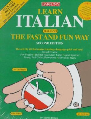 Learn Italian the Fast and Fun Way with Cassettes 9780764170256