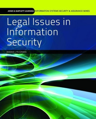 Legal Issues in Information Security 9780763791858
