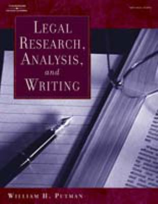 Legal Research, Analysis, and Writing 9780766854550