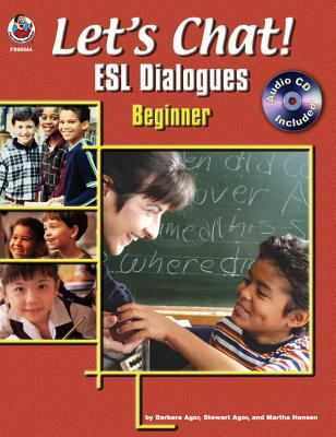 Let's Chat! ESL Dialogues, Grades K - 1 [With CDROM] 9780768230765