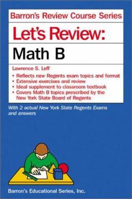 Let's Review: Math B 9780764116568