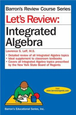 Let's Review: Integrated Algebra 9780764135910