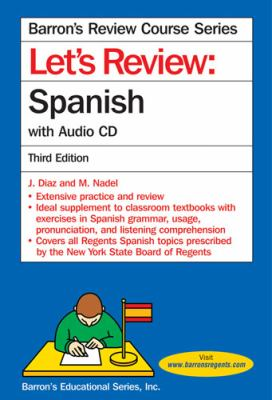 Let's Review: Spanish [With CD (Audio)] 9780764196010