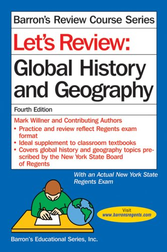 Let's Review Global History and Geography 9780764133640