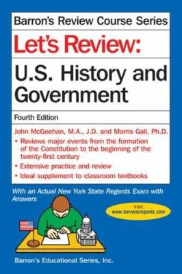 Let's Review: U.S. History and Government 9780764136344