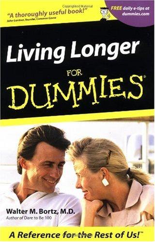 Living Longer for Dummies 9780764553356
