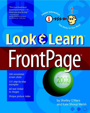 Look & Learn FrontPage 2002 9780764535048
