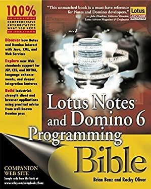 Lotus Notes and Domino 6 Programming Bible 9780764526114