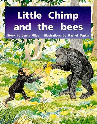 Little Chimp and the Bees: Blue Level, Grade 1 9780763572938
