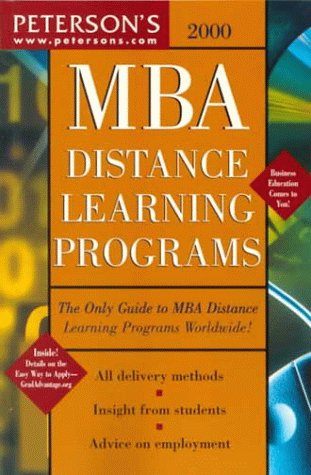 MBA Distance Learning 2000 9780768902822