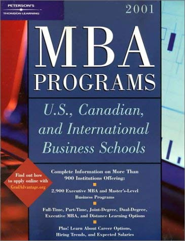 MBA Programs: U.S. Canadian, and International Business Schools 9780768904413