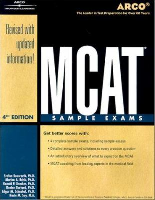 MCAT Sample Exams 4th Ed 9780768907810