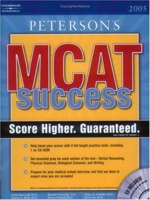 MCAT Success 2005 W CDROM [With CDROM] 9780768915617