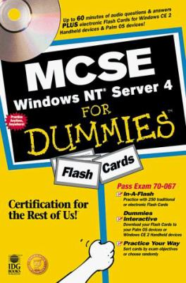 MCSE Windows NT Server 4 for Dummies Flash Cards: Exam: 70-067 [With CDROM] 9780764505508