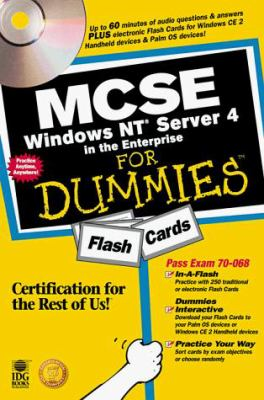 MCSE Windows NT Server 4 in the Enterprise for Dummies Flash Cards [With *] 9780764505515