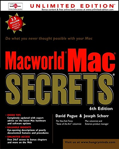 MacWorld. Mac. Secrets. 9780764534157