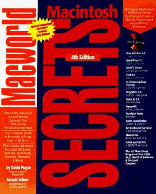 MacWorld Mac Secrets [With CDROM] 9780764540066