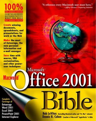 Macworld Microsoft Office 2001 Bible Bob LeVitus and Dennis R. Cohen