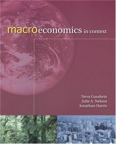Macroeconomics in Context 9780765622976