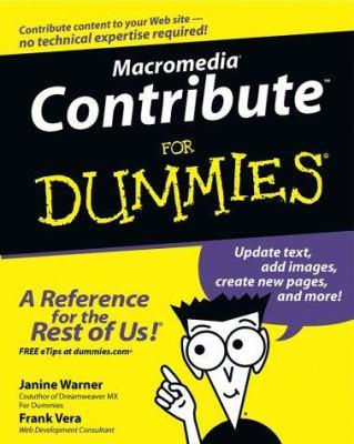 Macromedia Contribute for Dummies 9780764537516