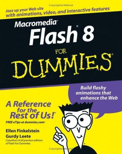 Macromedia Flash 8 for Dummies 9780764596919