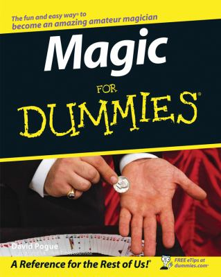 Magic for Dummies 9780764551017