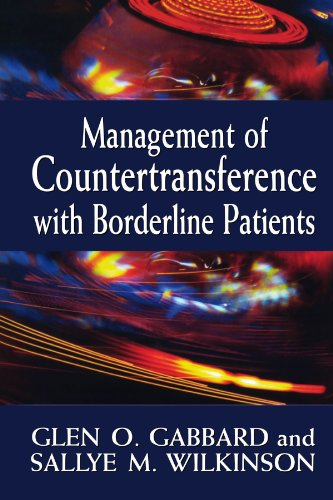Management of Countertransference with Borderline Patients 9780765702630