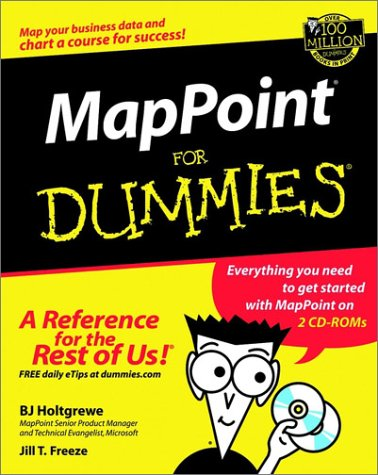 Mappoint(r) for Dummies. [With CDROM] 9780764516238