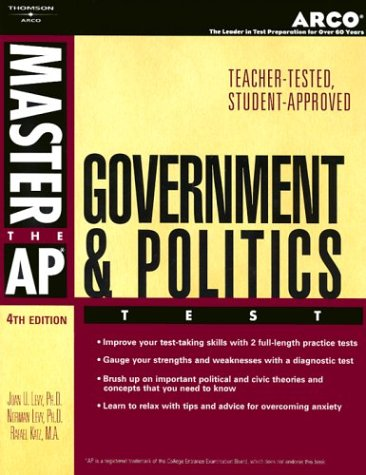 Master AP U.S. Government & Politics, 4e 9780768909944