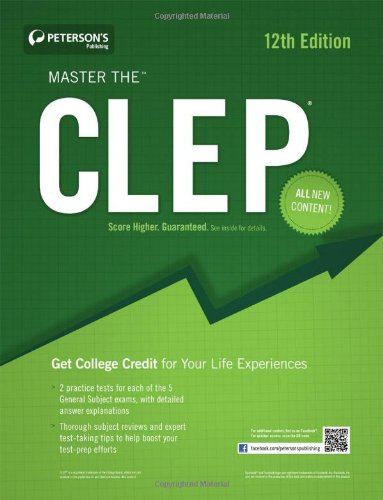 Master the CLEP 9780768933802