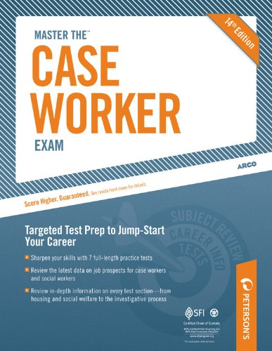 Peterson's Master the Case Worker Exam 9780768929089