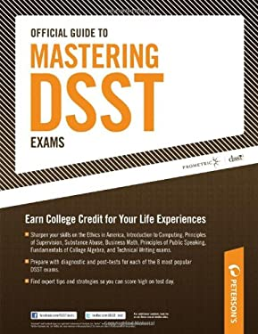 Peterson's Official Guide to Mastering DSST Exams 9780768928327