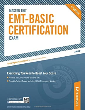 Peterson's Master the EMT Basic Certification Exam 9780768929096