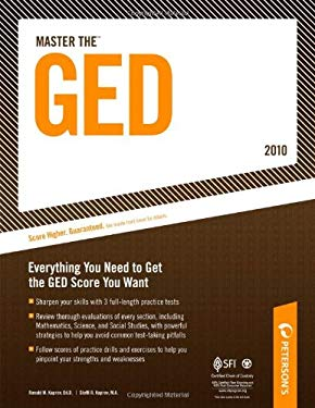 Master the GED - 2010: Everything You Need to Get the GED Score You Want 9780768927979