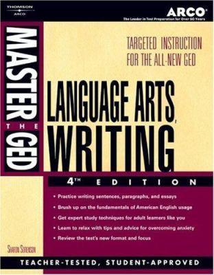 Master the GED Lang, Arts, Writing 4/E 9780768909975