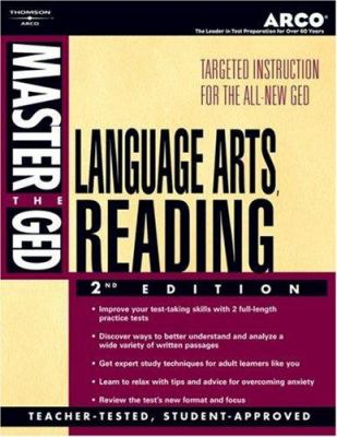 Master the GED-Language Arts, Reading 9780768909982