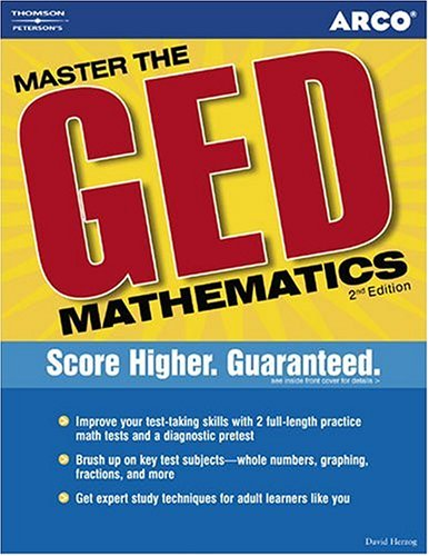 Master the GED-Mathematics 9780768909999