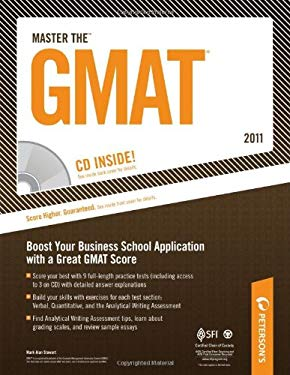 Peterson's Master the GMAT [With CDROM]