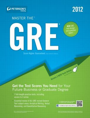 Master the GRE 9780768932904