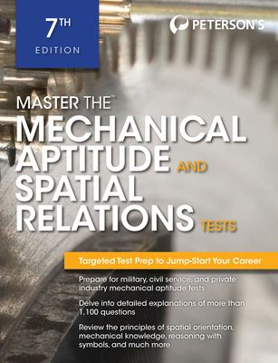 Master the Mechanical Aptitude and Spatial Relations Test 9780768928631