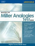 Master the Miller Analogies Test 9780768914726