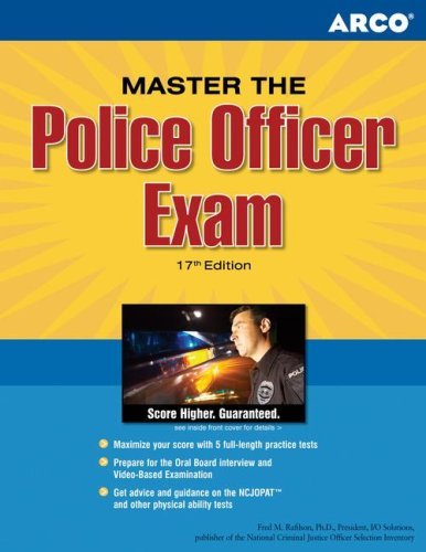 Master the Police Officer Exam 9780768918366