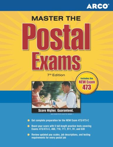 Master the Postal Exams, 7/E 9780768919875