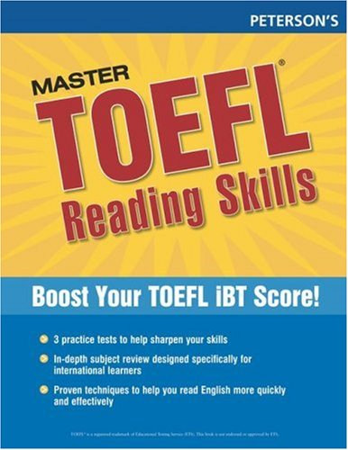 Master TOEFL Reading Skills: Master the Reading Strategies You Need to Get the Score You Need 9780768923278