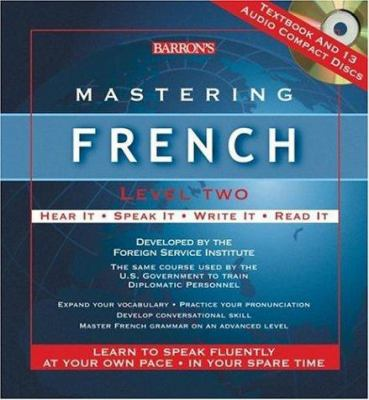 Mastering French Level Two [With Textbook] 9780764179761