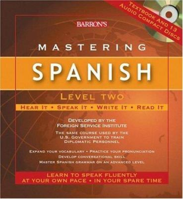 Mastering Spanish: Level Two [With Textbook] 9780764179778