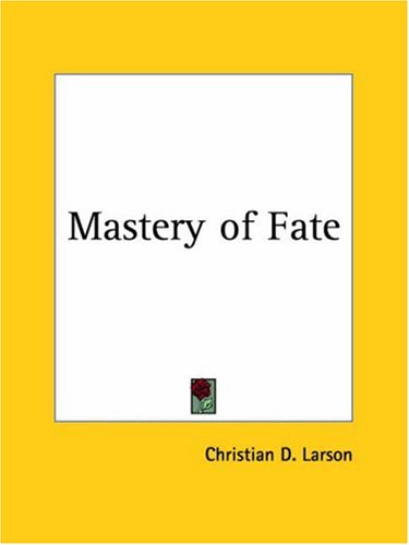 Mastery of Fate 9780766127289