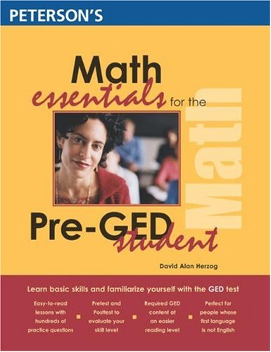 Math Essentials for the Pre-GED Student 9780768912531